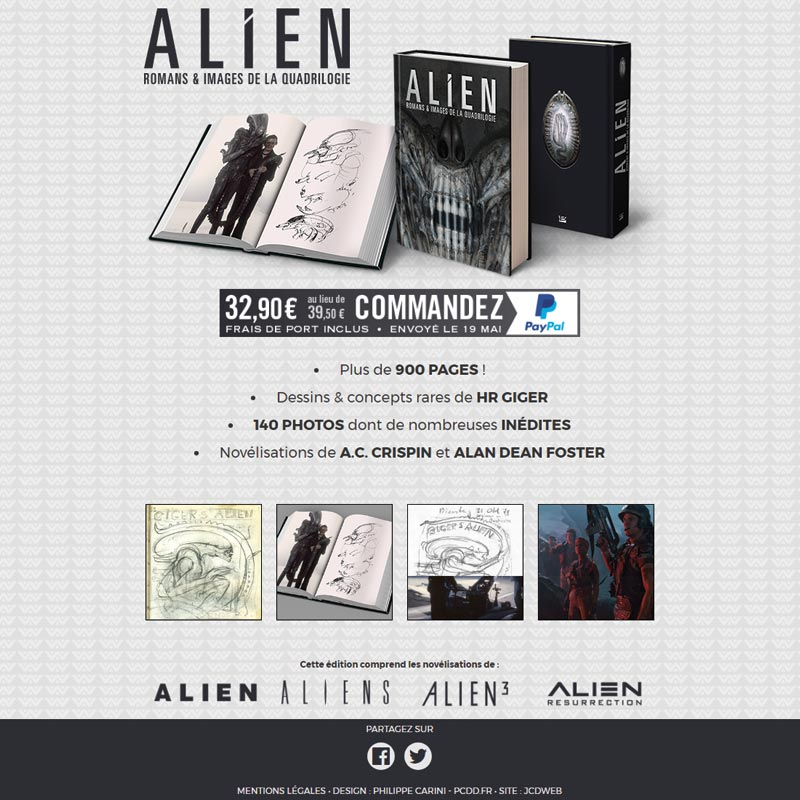 Alien : Romans & Images